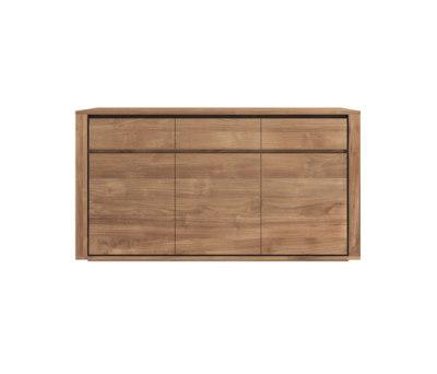 Teak Elemental sideboard by Ethnicraft