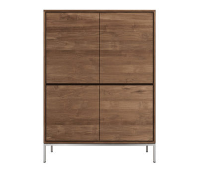 Teak Essential storage cupboard by Ethnicraft
