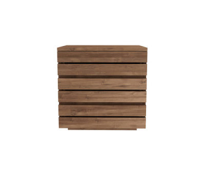 Teak Horizon night stand by Ethnicraft