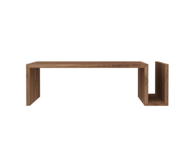 Teak Naomi coffee table by Ethnicraft