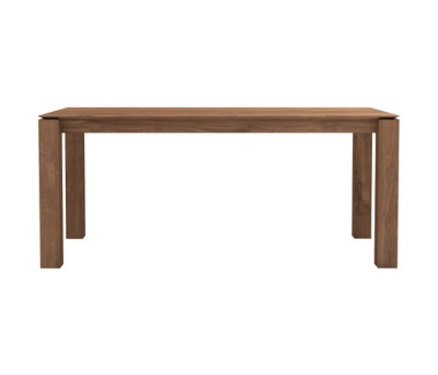 Teak Slice dining table by Ethnicraft