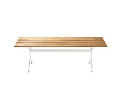 teak table 486_200 by Alias