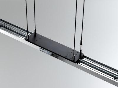 Tender LED Suspended lamp by Anta Leuchten