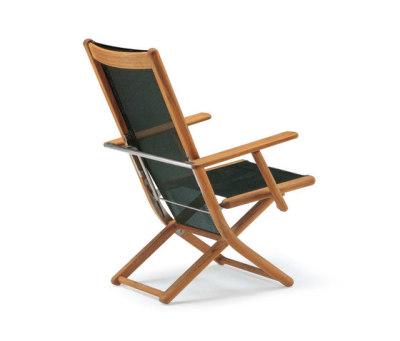 Tennis armchair adjustable by Fischer Möbel