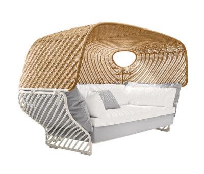 Tigmi Deep sofa with roof by DEDON