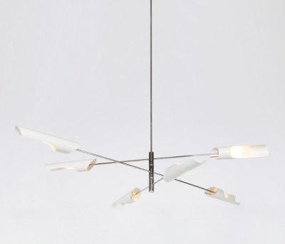 Torroja Cross Chandelier No 425 by David Weeks Studio