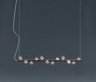Track Zigzag Pendant light HL 12 by HARCO LOOR