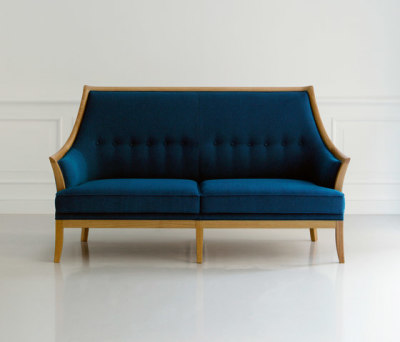 Traditional Two Seater Sofa by MARUNI