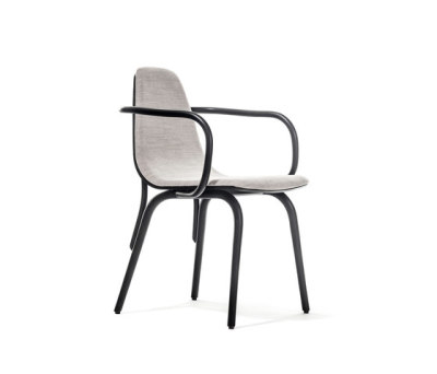 Tram Armchair upholstered by TON