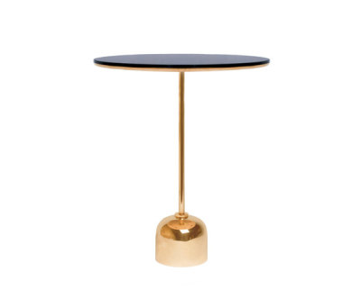 Tray It - Side Table - brass by Stabörd