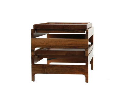 Tray Rack Side Table by BassamFellows