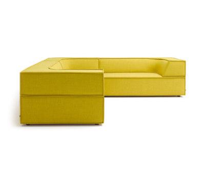 Trio Corner sofa by COR