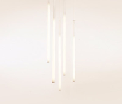 Tube Pendant V by lichtprojekte