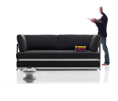 Twin | sofa-bed by Mussi Italy
