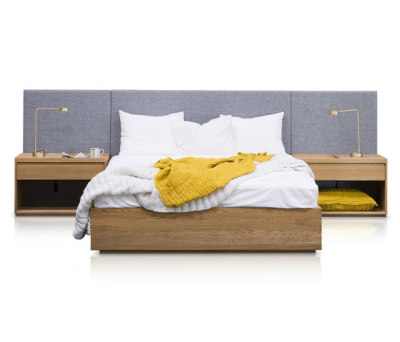 Ull & Eik Bed by Thorsønn