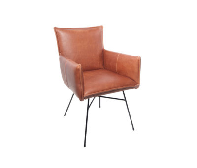 Vasa dining chair with arms by Jess Design