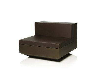 Vela sofa central unit by Vondom