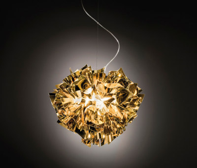 Veli Gold suspension by Slamp