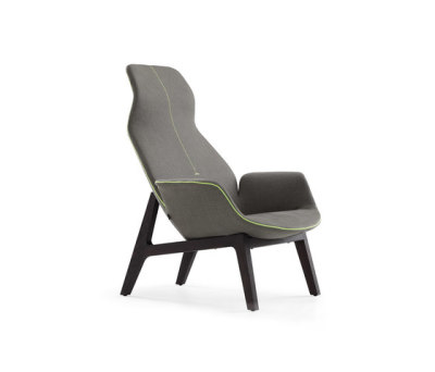 Ventura Lounge armchair by Poliform