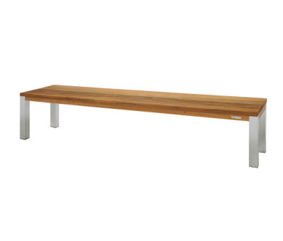 Vigo bench 220 cm (ss legs) by Mamagreen