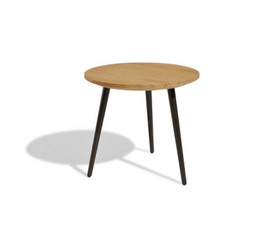 Vint low table 45 iroko by Bivaq