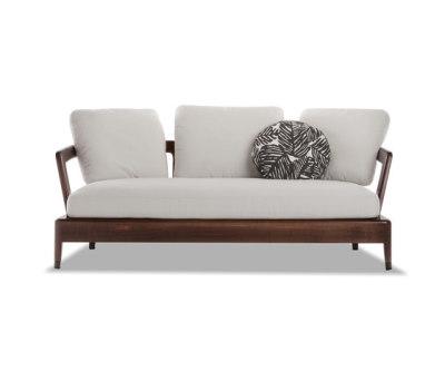 Virginia Outdoor Sofa by Minotti