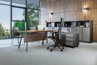 Vu Executive office desk by Ergolain