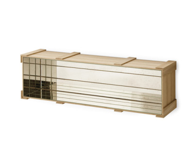 Wall Crate 27. by Antique Mirror