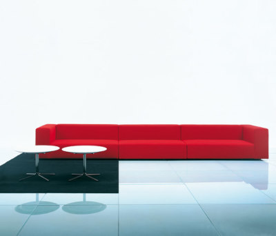 Wall modular sofa system by Living Divani