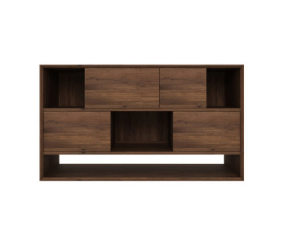 Walnut Nordic Low rack by Ethnicraft