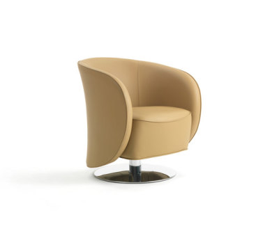 Well Swivel Armchair by Giulio Marelli