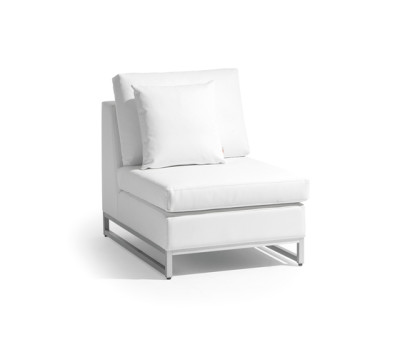 Zendo small middle seat by Manutti