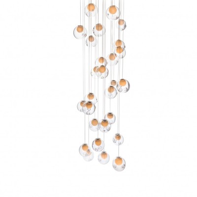 28.11 Square Chandelier Xenon