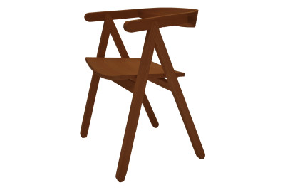 A Chair  Brown