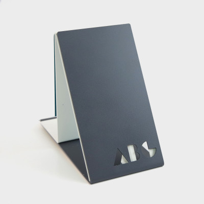ABC Bookends Black