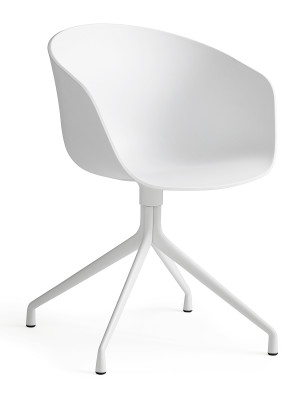 About A Chair AAC20 White Shell, White Base