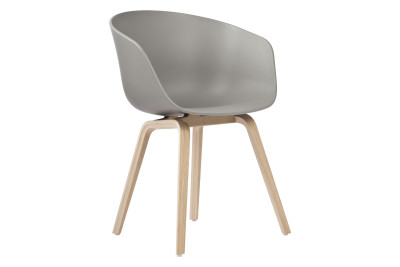 About A Chair AAC22 Lacquered Oak, Grey