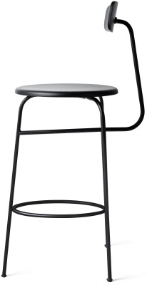 Afteroom Bar Stool Black