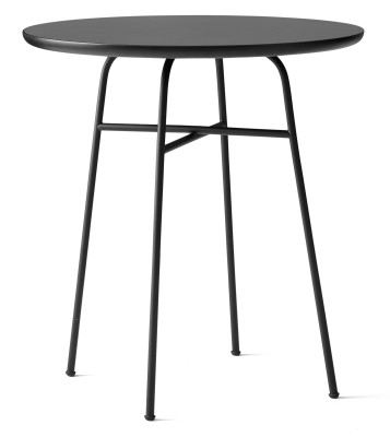 Afteroom Cafe Table Black/Black MDF
