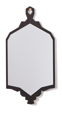 Albert Wall Mirror Black