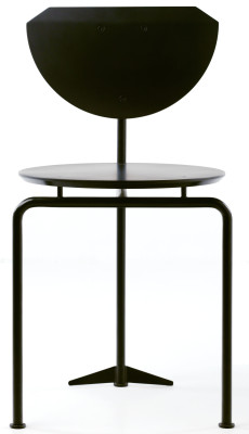 Alien Dining Chair Black Lacquer