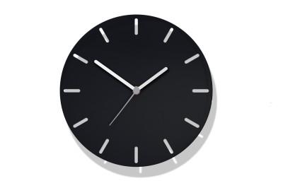 Aperture Clock Black