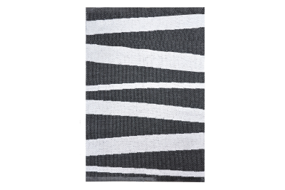 Åre Striped Rug Monochrome, 100x70