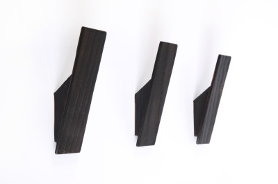 Ash Wall Hooks - Scorched