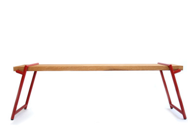 Atlas Bench Signal Red