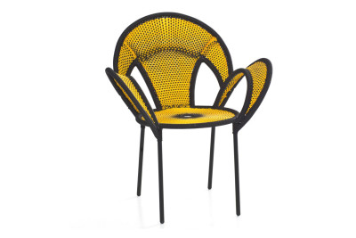 Banjooli Armchair Yellow and Black