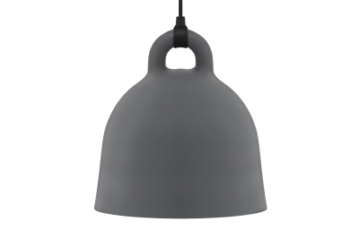 Bell Pendant Light Grey, Medium
