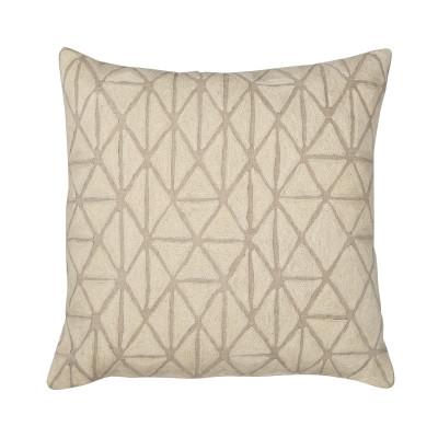 Berber Cushion Ecru & Natural Linen