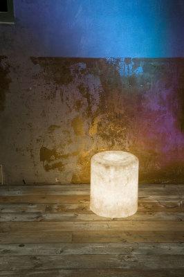 Bin F Nebula Floor Light Indoor