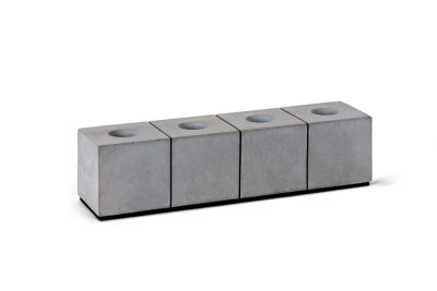 Block Four Candle Holders Set